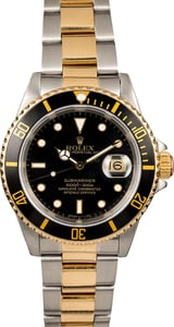 Rolex Submariner 16613 Two Tone Oyster Band