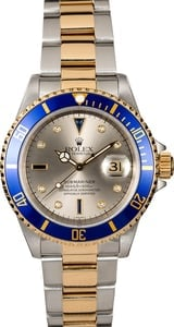 Rolex Submariner 16613 Blue Bezel Insert