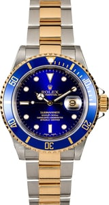 Rolex Submariner 16613 Blue Two-Tone