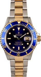 Rolex Submariner 16613 Blue Insert