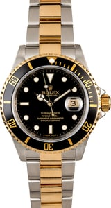 Rolex Submariner 16613 Serial Engraved
