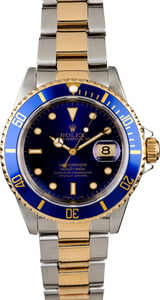 Certified Men's Rolex Submariner 16613 Two Tone Oyster
