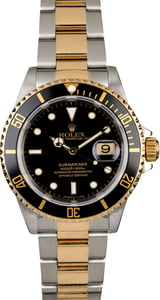 PreOwned Rolex Submariner 16613