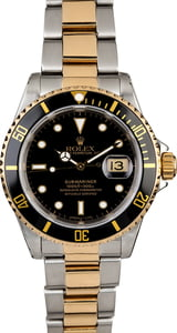 Two Tone Rolex Submariner 16613