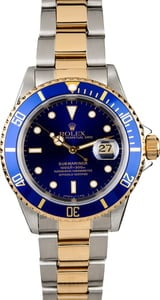 PreOwned Men's Rolex Submariner 16613
