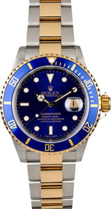 Men's Certified PreOwned Rolex Submariner 16613
