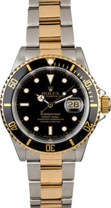 Men's Pre-Owned Rolex Submariner 16613