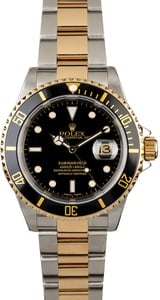 Rolex Submariner 16613 with Black Dial