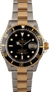 Rolex Submariner 16613 Black Insert