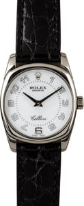Rolex Cellini Danaos 6229 White Gold Case