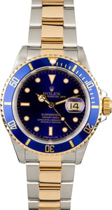 Rolex 16613 Submariner Blue DIal