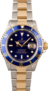 Rolex Submariner 16613 Black Dial Oyster Perpetual