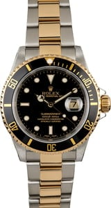 PreOwned Rolex Submariner 16613 Two Tone Band