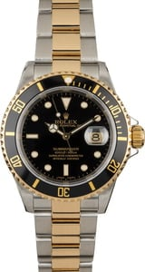 Certified Rolex Submariner 16613 Two Tone