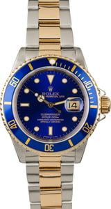 Pre Owned Rolex Submariner 16613 Diver's Bezel