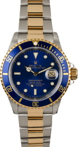 PreOwned Rolex Two Tone Submariner 16613