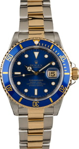 Rolex Submariner 16613 Blue Dial and Bezel Two Tone