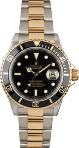 PreOwned Rolex Submariner 16613 Serial Engraved