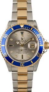 Used Rolex Submariner 16613 Steel & Gold