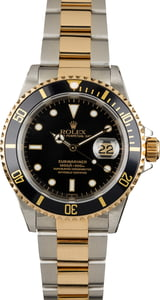 Pre Owned Rolex Submariner Oyster 16613