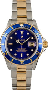 Pre Owned Rolex Steel and Gold Submariner 16613