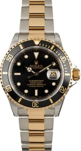 Pre Owned Rolex Submariner 16613 Two Tone Model