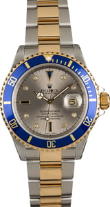 Used Rolex Serti Submariner 16613