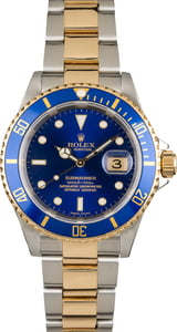 Used Rolex Submariner Blue 16613