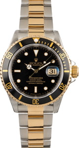 Rolex Submariner 16613 Black Dial and Bezel