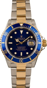 Rolex Blue Submariner 16613
