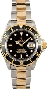 Rolex Submariner 16613 100% Authentic