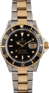 Pre Owned Rolex Submariner 16613 Two-Tone