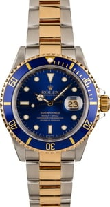 Pre Owned Rolex Submariner 16613 Blue Dial & Bezel