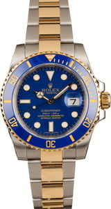 Pre Owned Rolex Submariner 116613 Two Tone Oyster Bracelet