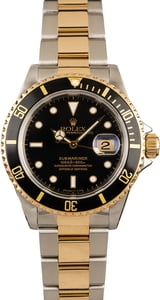 Pre-Owned Rolex 40MM Submariner 16613 Two Tone