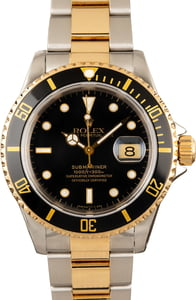 Rolex Submariner 16613 Two Tone with Black Dial