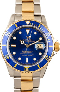 Rolex Two Tone Submariner 16613