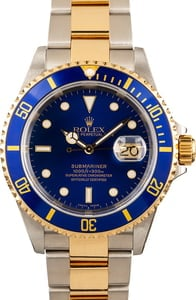 Rolex Submariner Two-Tone 16613 Oyster Band