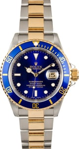 Rolex Submariner 16613 No Holes 100% Authentic
