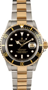 Rolex Submariner 16613 No Holes Case