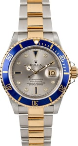 Rolex Submariner 16613 Steel Serti