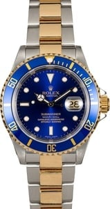 Rolex Submariner Blue 16613T