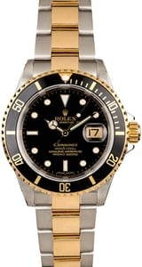 Rolex Submariner 16613T Two Tone Oyster
