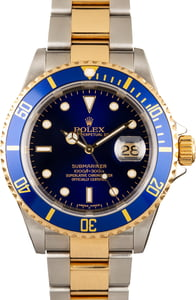 Rolex Submariner 16613T Two Tone Watch