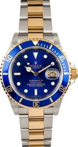 Rolex Submariner 16613T No Holes Case