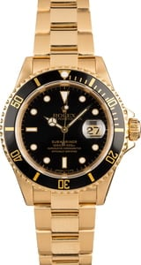 Pre-Owned Rolex Submariner 16618