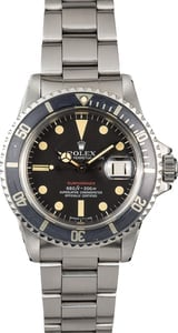 Rolex Submariner 1680 Vintage Red