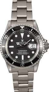 Vintage Rolex Submariner 1680 Black Dial