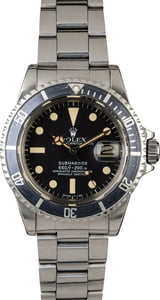 Vintage Rolex Submariner 1680 Feet First