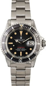 1970 Vintage Rolex Red Submariner 1680